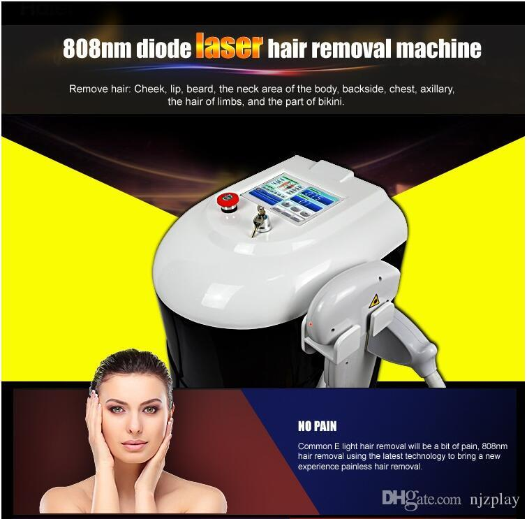 2018 NEWEST !! Germany 450W bars Permanent hair removal beauty device / 808nm diode laser body hair removal / laser hair removal
