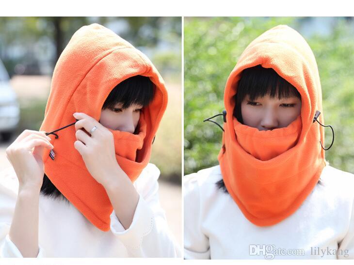 Cappellini natalizi Maschere il viso Silenziatore antivento Sciarpa in pile a doppia faccia Multifunzione Calda impugnatura Passamontagna in bicicletta più calda Maschere termiche