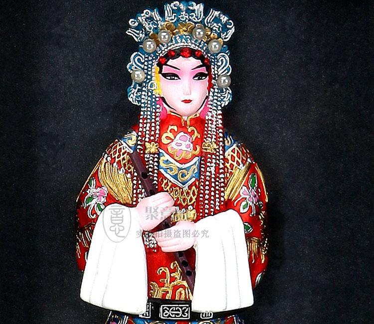 La cornice di Opera di Pechino Joe tre persone Arredamento la casa ornamenti tradizionali regali aziendali