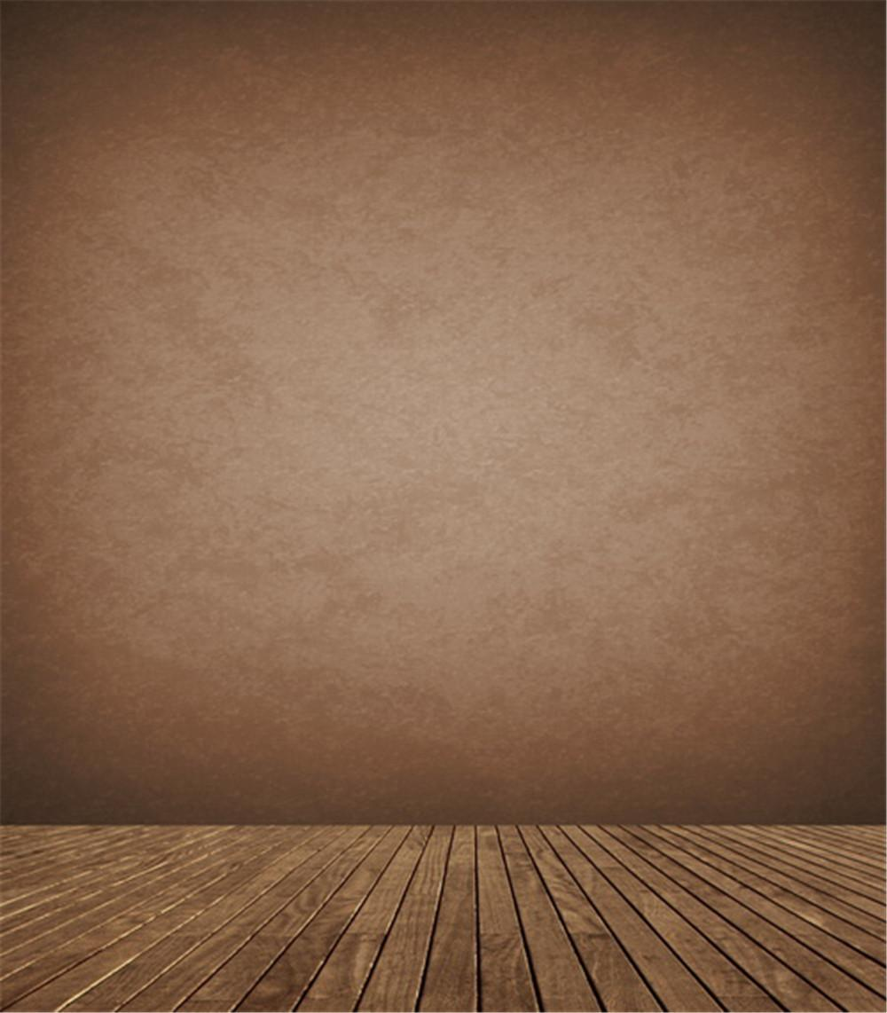 2018 solid brown color wall wood floor backdrop plank for 0 floor