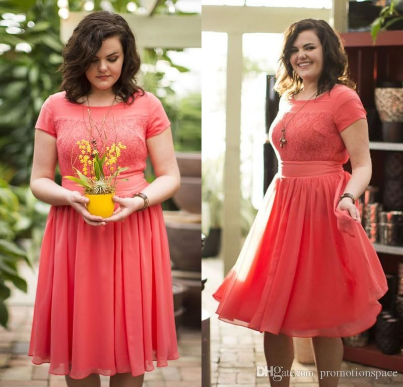 Plus Size Coral Bridesmaid Dresses | Best Dresses 2019