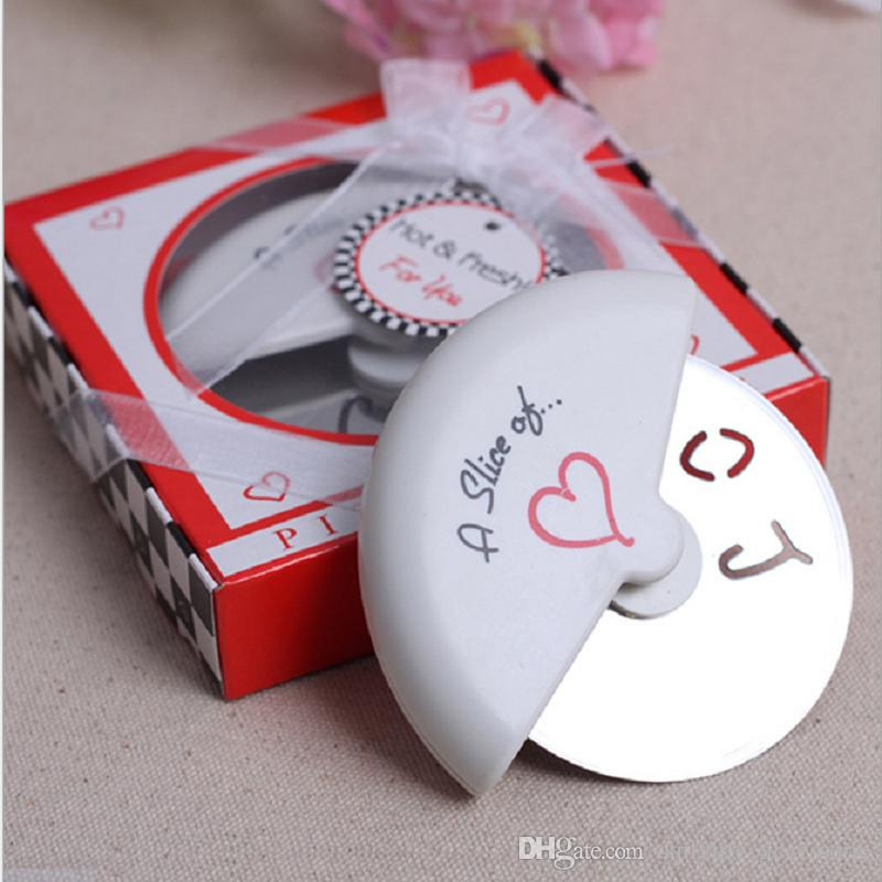 Expensive Wedding Gift Ideas: Hot Sale A Slice Of Love Pizza Cutter In Miniature Pizza