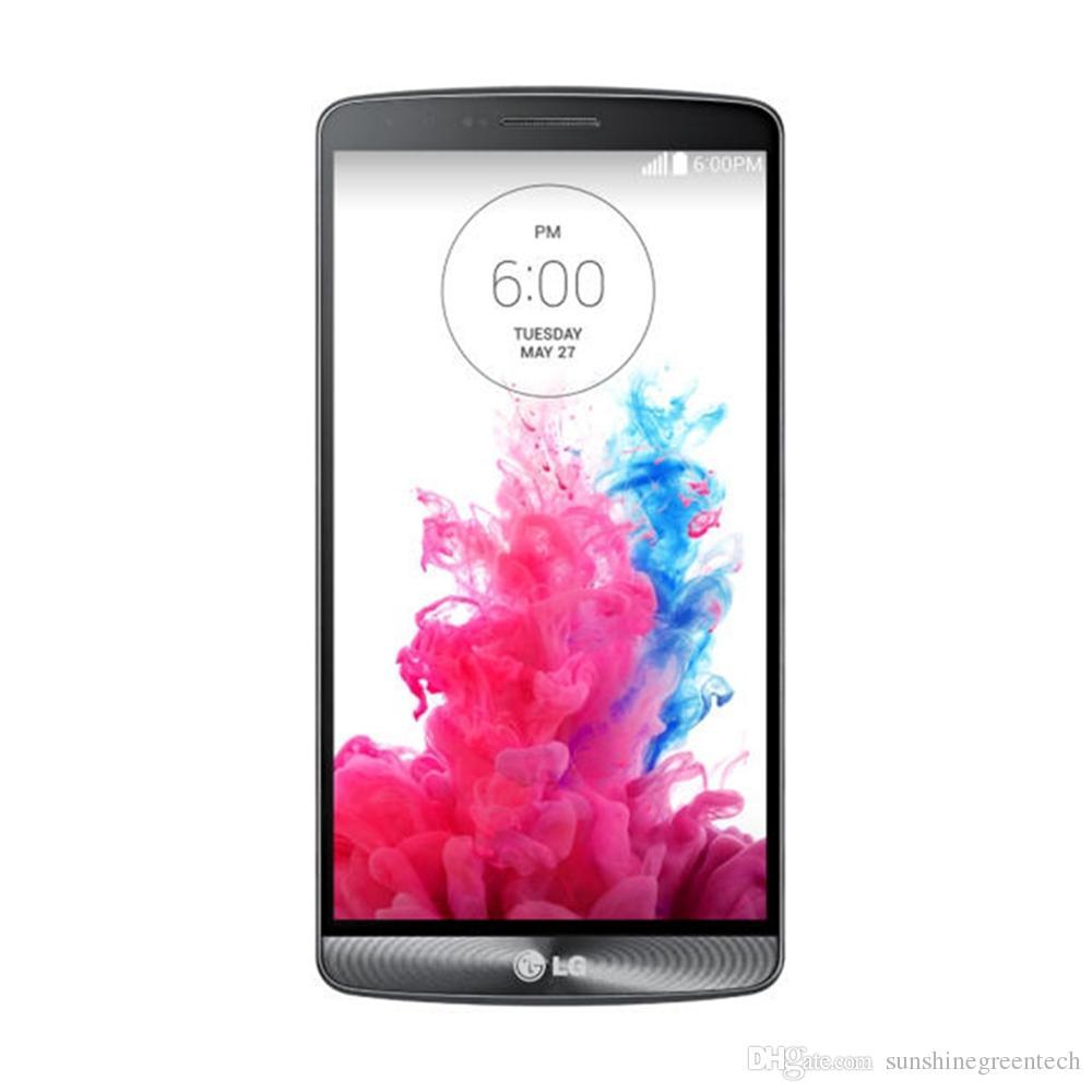 Yenilenmiş Telefonlar LG G3 D850 D851 D855 AB sürümü Unlocked Telefon 5.5 inç 3 GB RAM 32 GB ROM 16MP Cep Telefonu
