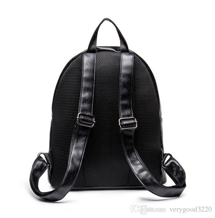 Célèbre conception classique hommes voyage sac à dos décontracté étudiant sacs d'école pour adolescents haute qualité femmes bookbag mochila bagpack
