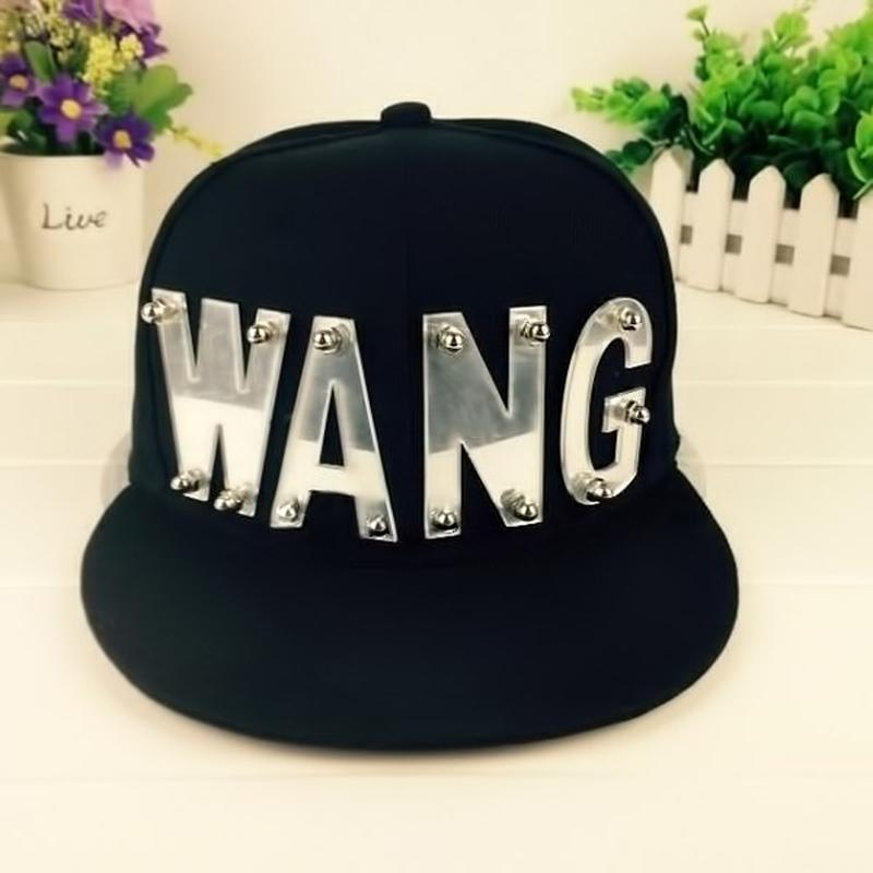 4d136c68bbc 2019 Wholesale KPOP GOT7 Jackson Adjustable Cap Baseball Hat Snapback WANG  Caps Sunhat Shjustable Hat For Man Woman From Godefery