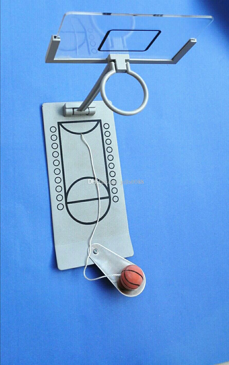 Mini Finger Basketball Game Foldable Table Spring Loaded Desktop Family Fun Toy Sport