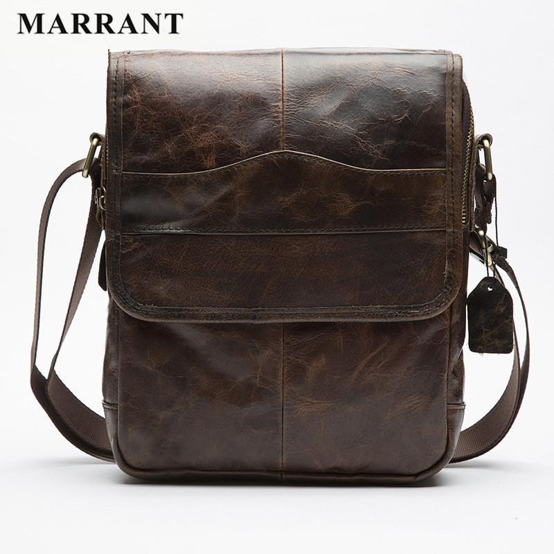 Wholesale Marrant Men S 100% Genuine Leather Messenger Bag Vintage  Crossbody Shoulder Bag For Men Business Casual Travel Bag Crossbody Bags  Messenger Bags ... 7d9ced908f51f