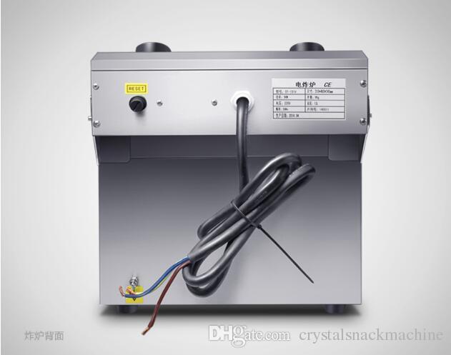 13L Ticari Tavuk Chip Fritöz Elektrikli Fritöz Fritöz Sepeti kfc Tavuk Kızartma Makinası Patates Kızartma Makinası 220V