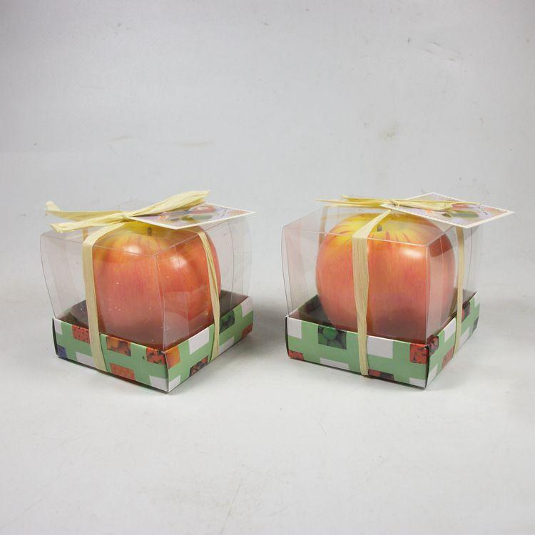 Apple candle Vintage Apple candle home docor romantic party decorations Apple scented candles For Wedding Christmas Eve