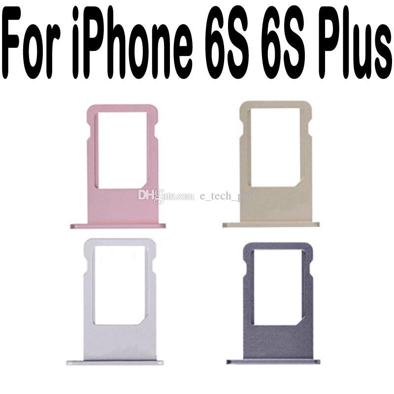 IPhone 4G Için SIM Kart Tepsi Tutucu 4 S 5 5G 5C 5 S 6G 6 6 S 7G 7 Artı 4.7 5.5 Değiştirme