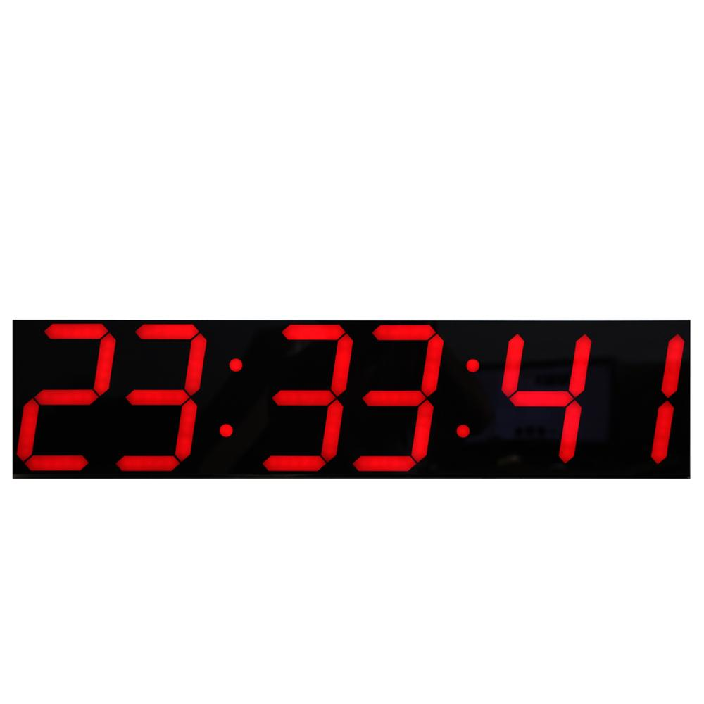 Wholesale Oversize Led Digital Wall Clock With Remote Control Large