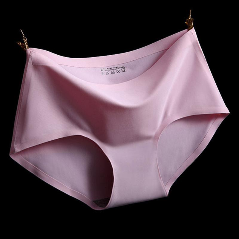 2017 Hot High Quality Sexy Underwear Women Seamless Bragas Tanga Sexy Briefs Seda Calcinha Blankholding Comfort Bragas