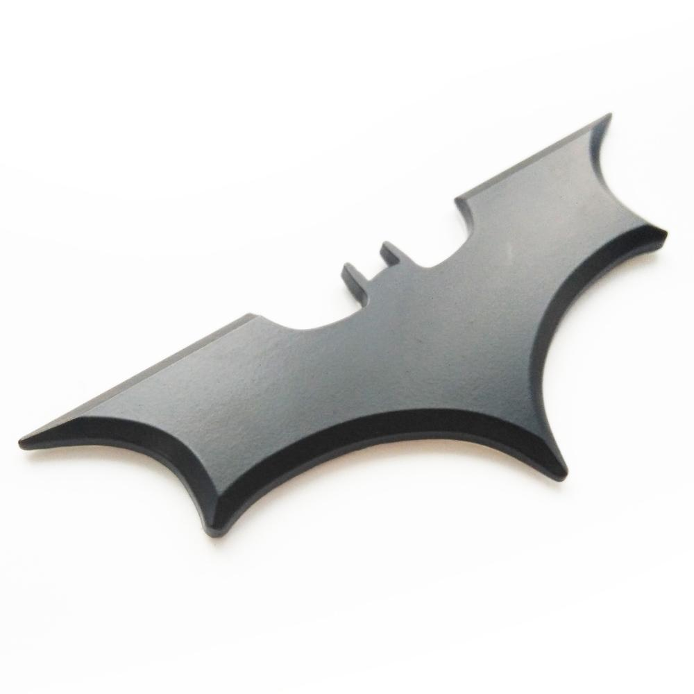 2018 Wholesale 3d Bat Car Sticker Cool Metal Bat Auto Logo Cover Car ...
