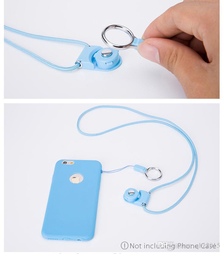 회전식 넥 스트랩 분리형 링 끈 휴대 전화 MP3 MP4 플래시 드라이브 ID 카드 핸드폰에 대 한 매력적인 매력을 교수형
