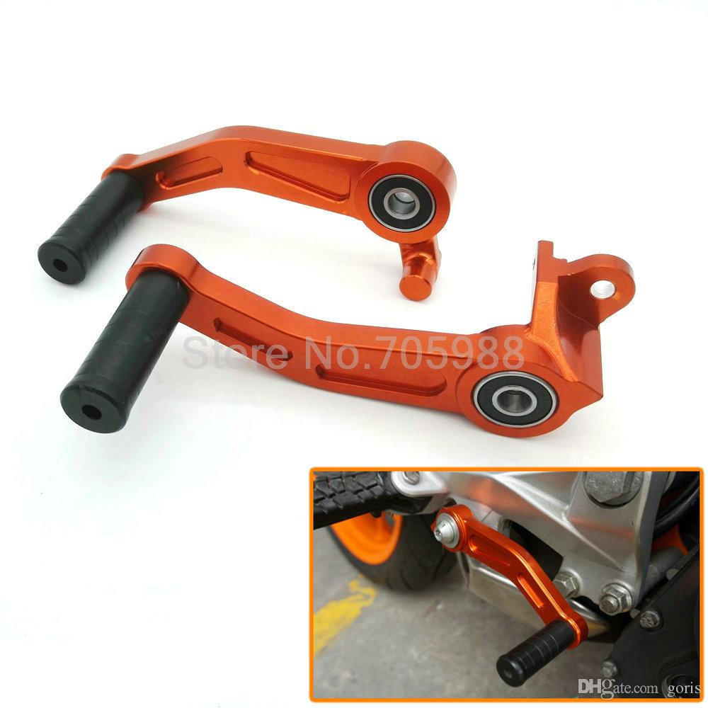 Motorcycle Motorbike CNC Aluminium Brake Clutch Gear Pedal Lever For KTM DUKE 125 200 390 2013 2014 2015