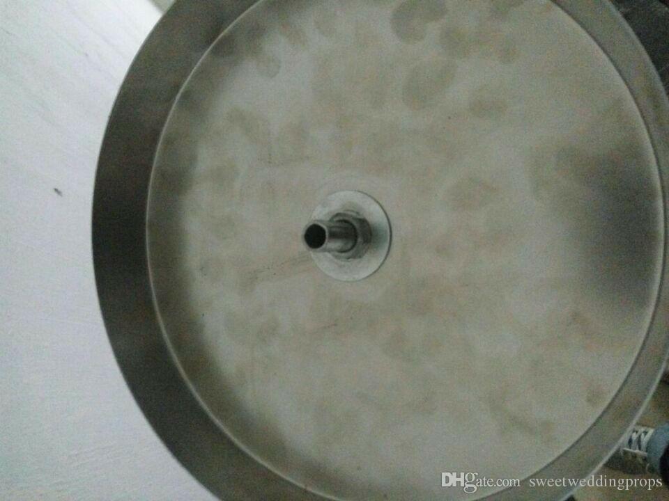 Heißer verkauf trompete geformt acryl kristallvase blumenvasen