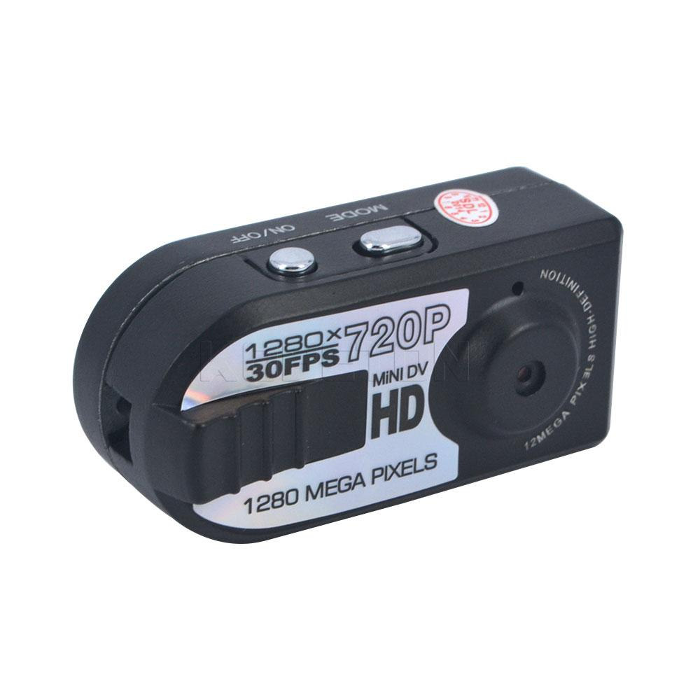Wholesale-HD 720P Mini DV Q5 DVR Camcorder Night miniature Mini Camera infrared night vision camera shoot