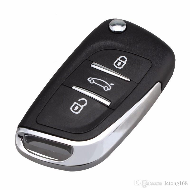 Guaranteed 100% 3Buttons Modified Key Fob Shell for Citroen C2 C3 C4 Coupe VTR Berlingo C6 C8 Remote Flip Folding Keyless Case