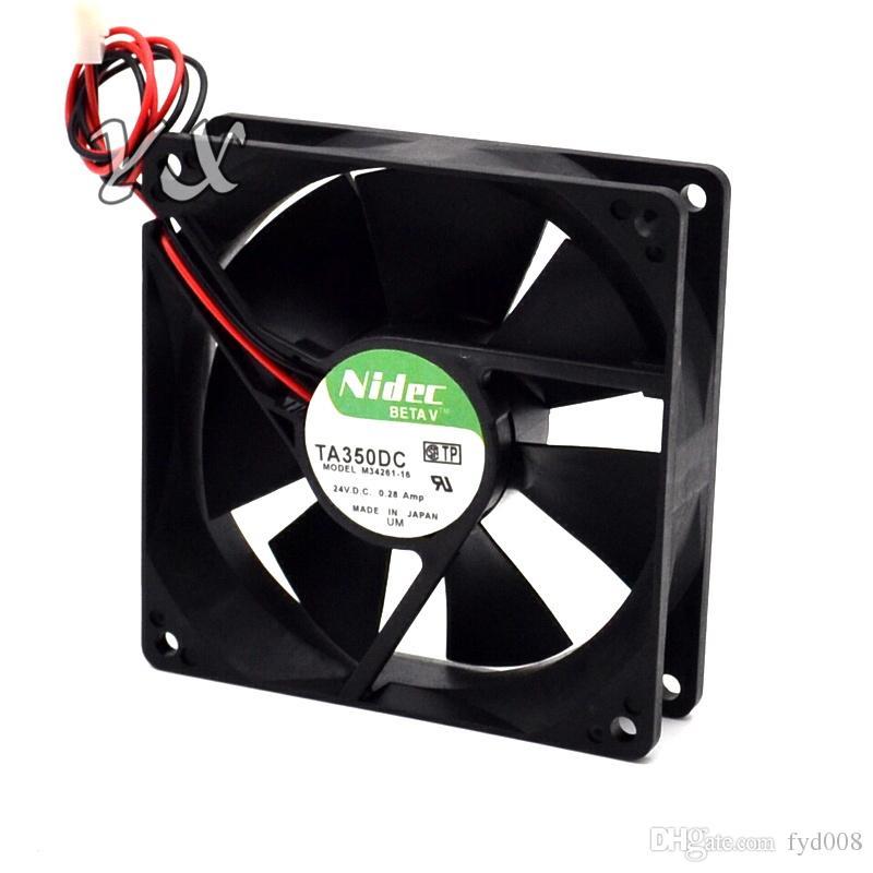 Nuevo 92 * 92 * 25 mm TA350DC M34709-35 9CM 12V 0.5A PWM volumen chasis ventilador de refrigeración para nidec