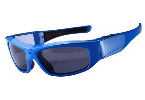HD 720P Sonnenbrille DVR Mini Audio Videorekorder Gläser Kamera Sport DV Eyewear Videokamera Pinhole Kamera tragbare Sonnenbrille DV weiß