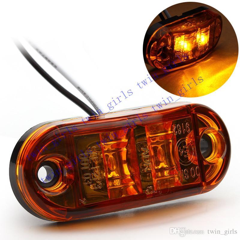 X Led Steering Light V V Auto Car Van Led Side Lamp Marker - Car signal light