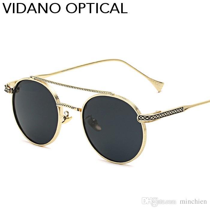 03fa0668c3 Vidano Optical Retro Women Sunglasses Men Classic Polarized Fashion  Designer Hot Sale Luxury Brand Oval Sun Glasses UV400 Prescription  Sunglasses Glasses ...