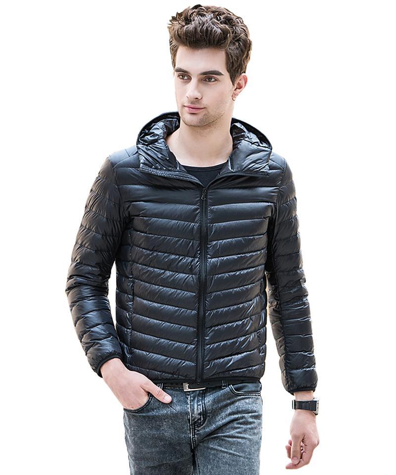 2017 Wholesale 2016 New Fashion Men Winter Jacket Ultra Light ...