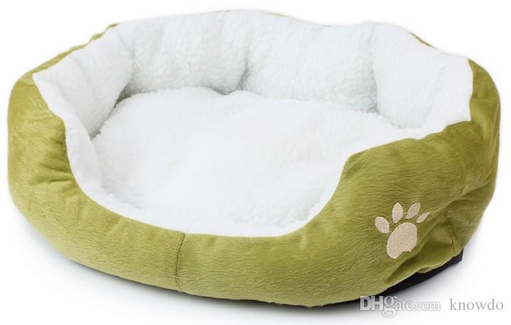 Whoesale Fashion Cotton Pet Bed for Cats Dogs Small Animals Solid 50*40Cm Bed House Cushion