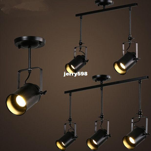 Industrial Edison Loft Track Lamp American Retro Kitchen Gangway - Retro kitchen ceiling lights