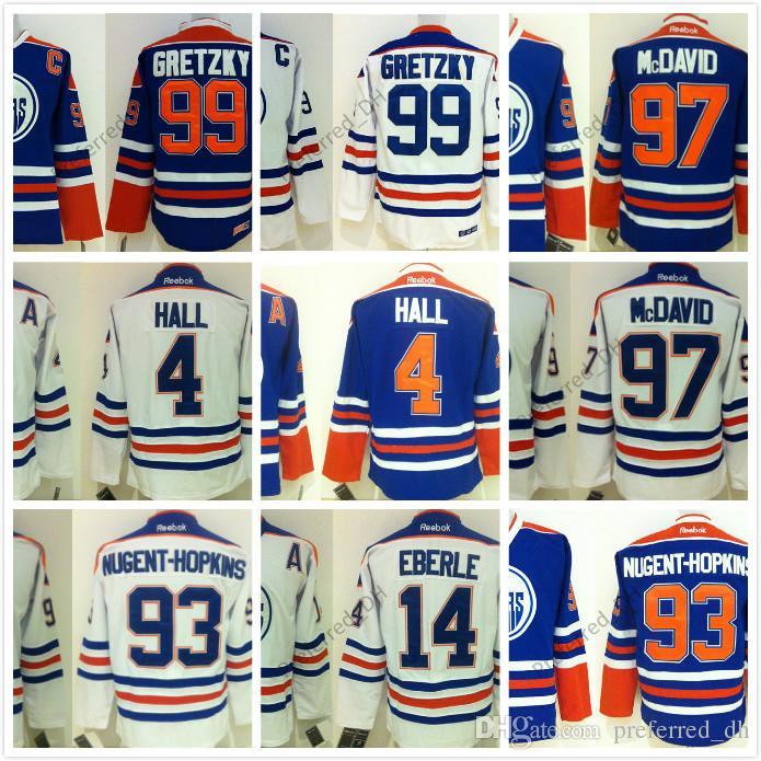 2017 New 27 Milan Lucic 29 Leon Draisaitl 33 Cam Talbot 44 Zack Kassian  Edmonton Oilers NHL Ice Hockey Third Mens Premier Jerseys Edmonton Oilers  Jersey 97 ... 339eb8e50
