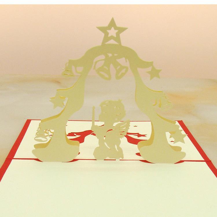 Wedding Party Invitations 3d Foldable Cartoon Kids Birthday Greeting ...