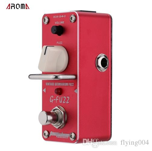 Free shipping AROMA AGF-3 G-FUZZ Vintage Germanium Fuzz Guitarra Effect Pedal Mini Analogue Guitar Effect Pedal with True Bypass