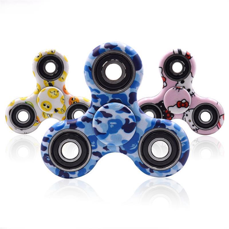 New Fid Spinners Hand Spinner Pattern Triangle Fingertips Spinner