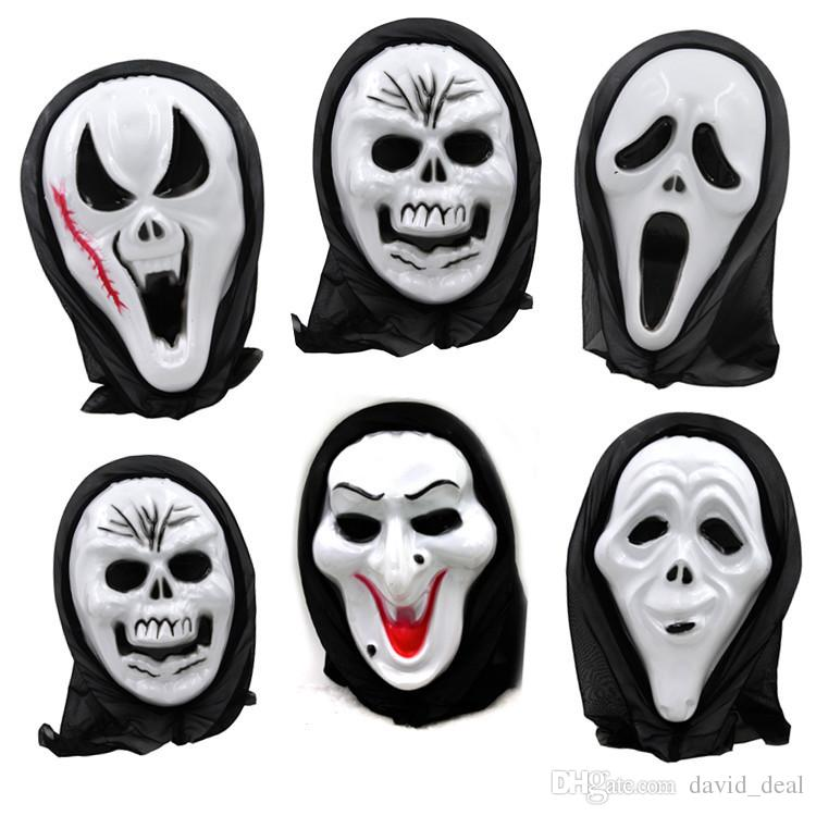 halloween funny toys dance party skull mask fancy dress festival gift full face scary horror masks costume gifts funny masquerade from daviddeal
