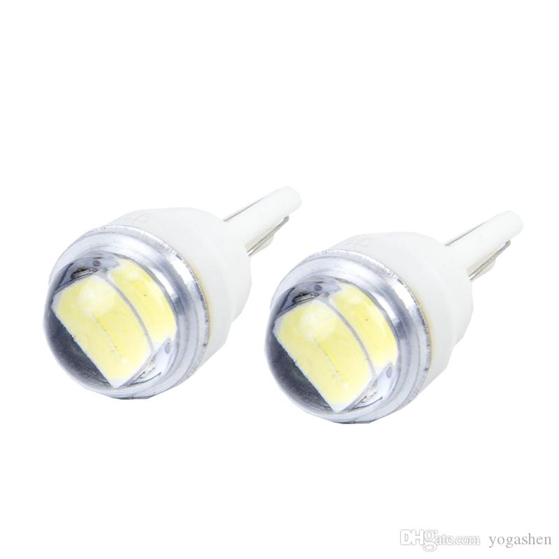 Car 2LED T10 194 168 w5w LEDWedge Light Side Bulbs For Car Tail light Side Parking Dome Door Map Clearance light