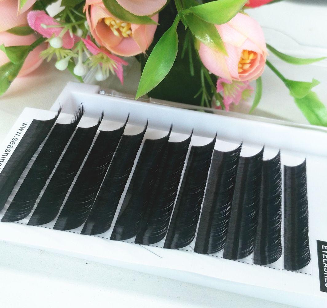 0,03 0,15 Top Corée cils individuels Toutes les tailles Volume Cils Extensions Lash L C D Nouveau Lash Seashine pour cils professionnels