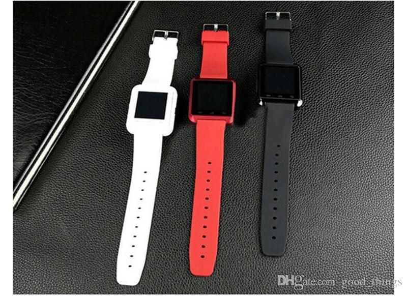 Bluetooth Smartwatch U8 U Watch Smart Watch Wrist Watches for iPhone 4 4S 5 5S Samsung S4 S5 Note 2 Note 3 HTC Android Phone Smartpho OTH014