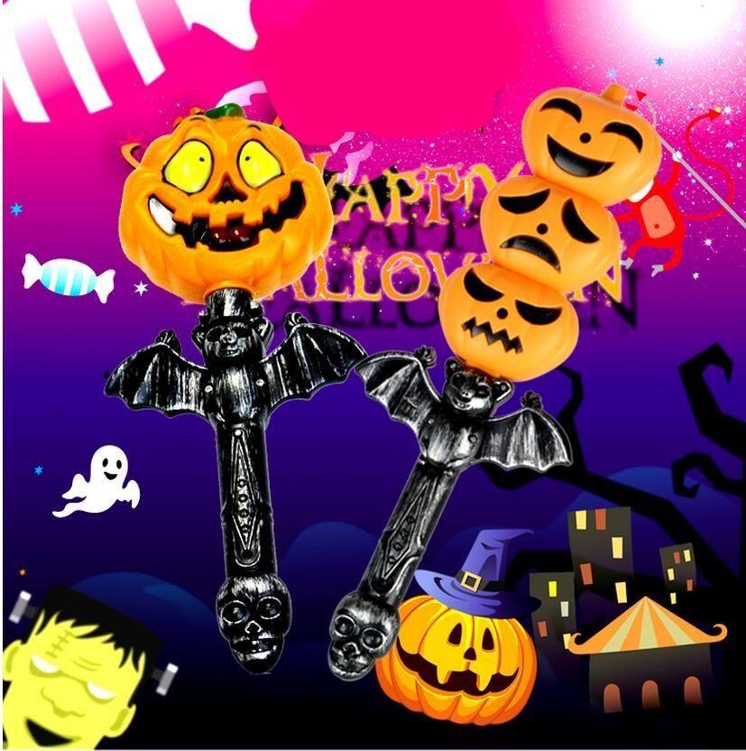 Led Stick Pumpkin Halloween Carnival Party Decorations Festival ...