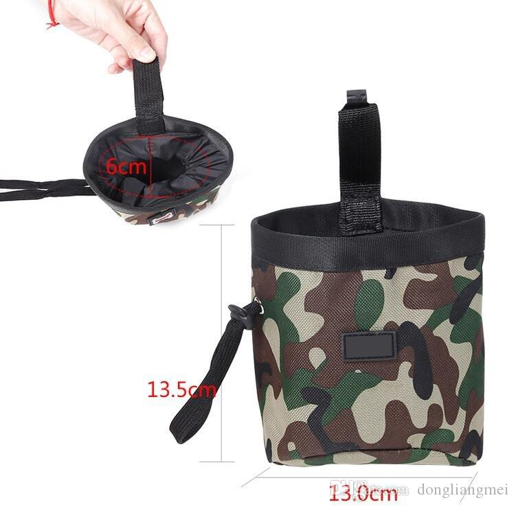 pet Dog cat Treat Pouch for Training Carries Treats and Toys food Poop Bag Dispenser wn011