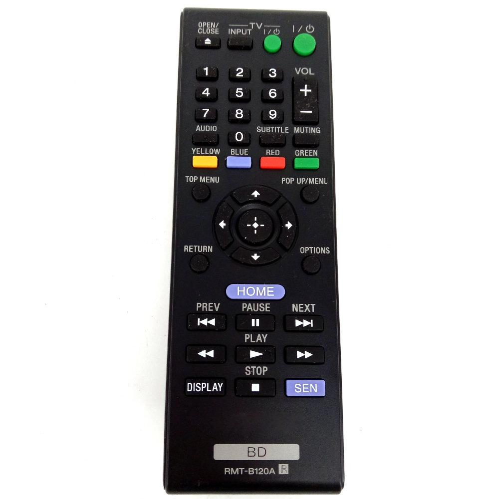 921f3afb0 Wholesale Remote Control For Sony RMT B120A For BDP S1100 BDP S3100 BDP  S4100 BDP S5100 BDP S190 Blu Ray Player Fernbedienung Remote Controller  Wireless ...