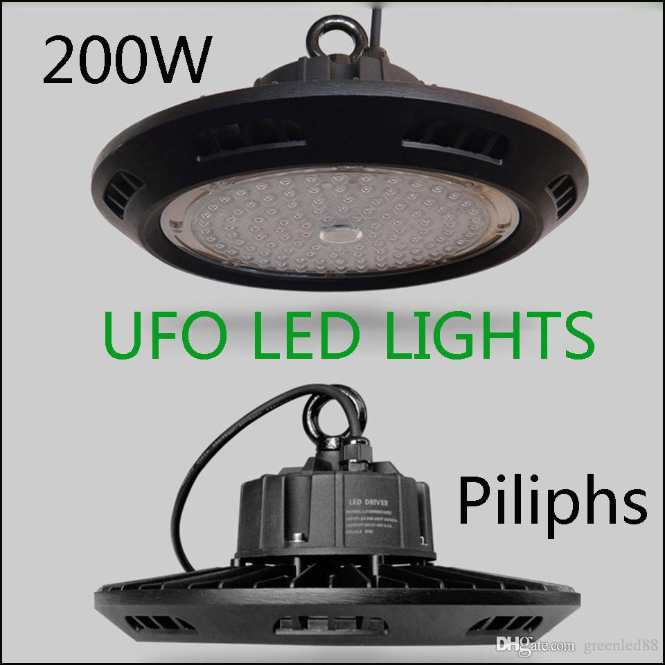 Meanwell driver 100w 200w ufo led high bay light floodlight meanwell driver 100w 200w ufo led high bay light floodlight warehouse exhibition lighting lamp ip65 outdoor waterproof low bay light arubaitofo Image collections