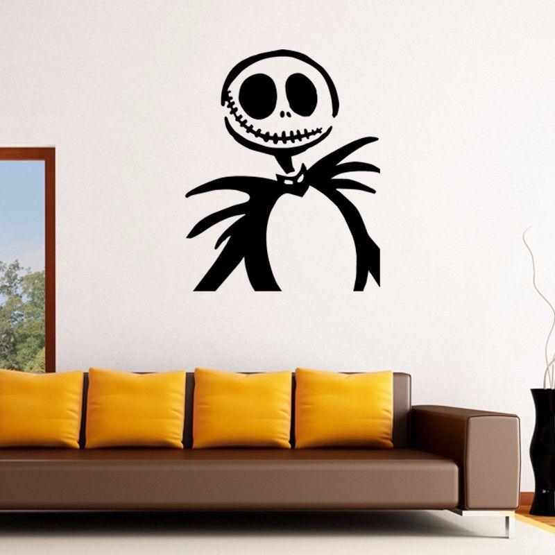Jack Skellington Bedroom Decor Double Bedroom Interior Design Bedroom Paint Ideas Modern Bedroom Chairs Near Me: Hot Sale Jack Skellington Animation Decor Art Wall