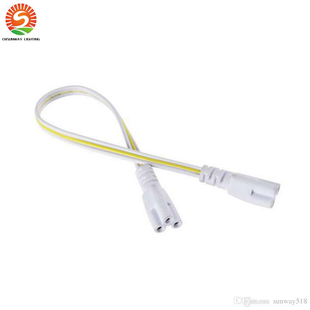 Best Integrated Led Tubes Power Cable 2 Sides Pin 12 24 48 96 Inch ...