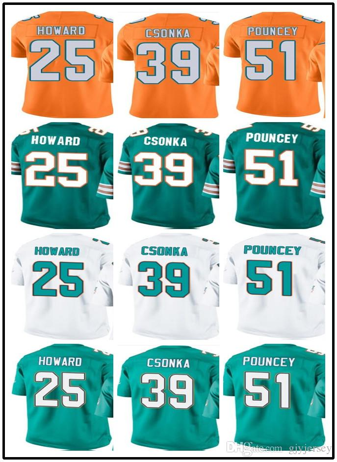 d5949dc7 coupon code for game mike pouncey jersey miami dolphins 51 road ...