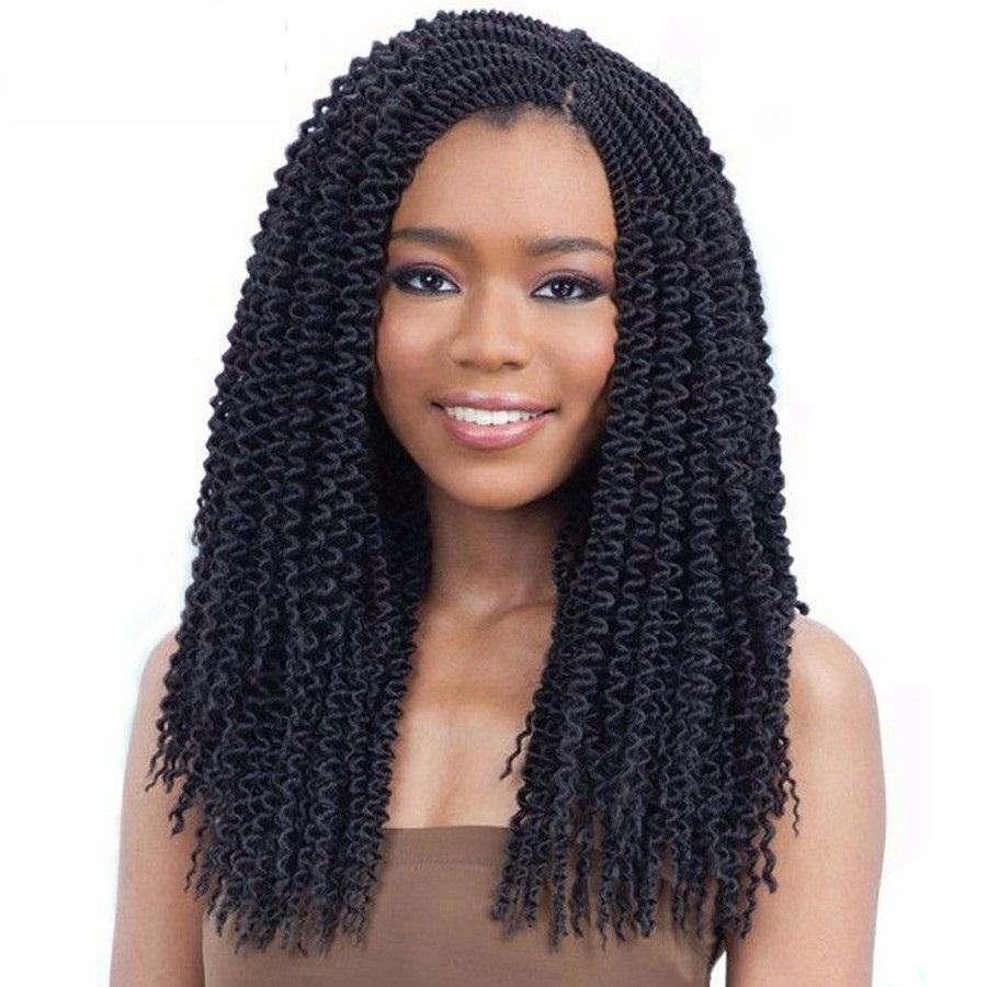 Can be unravelled crochet braids curly freetress hair 22inch long can be unravelled crochet braids curly freetress hair 22inch long island twist crochet hair braiding synthetic hair extensions micro ring hair extension pmusecretfo Gallery