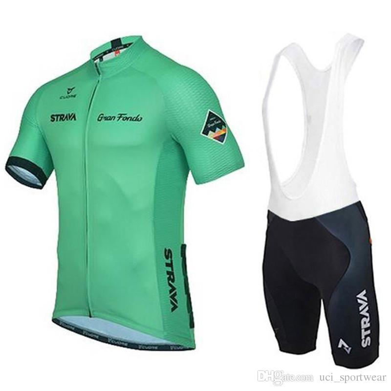 Strava Sommer Radtrikot hohe Qualität Ropa Ciclismo / Breathable Bike Bekleidung / Quick-Dry Fahrrad Sportwear Ropa Ciclismo Bike Bib Hosen