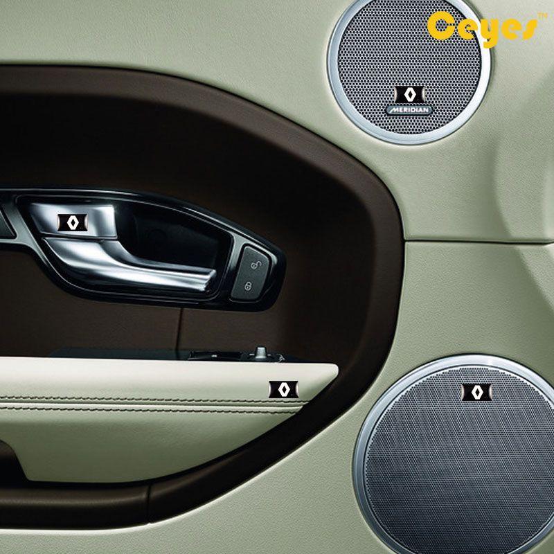 ملصقات السيارات شخصية ملصقا لرينو داستر كابور لوجان kadjar كليو ميجان 2 3 شعار شارة مثبت الملصقات