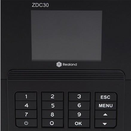 Enregistreur de présence de temps d'empreinte digitale Horloge ZDC201T TCP / IP MEILLEURE VALEUR Économie Livraison Gratuite