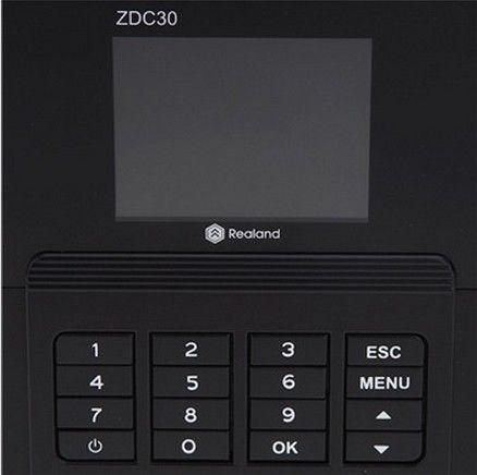Fingeravtryckstid Närvaro Recorder Clock ZDC201T TCP / IP Bästa Value Economy