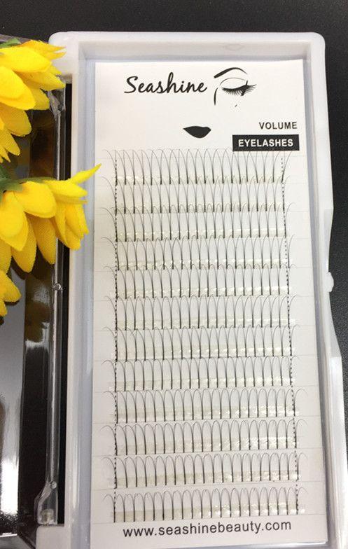 10trays 2D volume eyelashes premade fans C D culr 0.07/0.10mm thickness 2D individual eyelash false eyelash extensions handmade top quality